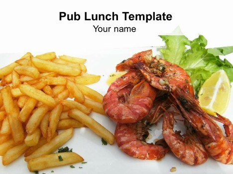 Pub Lunch Template