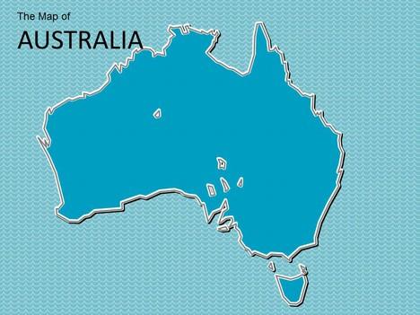 Australia Map Template.Map Of Australia Template