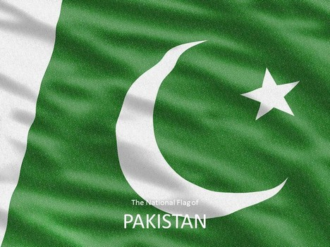 Pakistan Map Template inside page