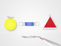 More Christmas Graphic Shapes Template