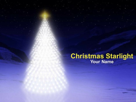 presentation magazine - christmas powerpoint templates - page 3, Modern powerpoint