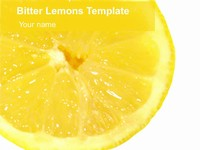 Bitter Lemons Template