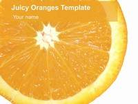 Juicy Oranges Template