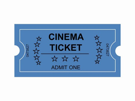 Cinema Tickets Clip Art inside page