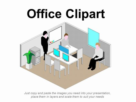 office clipart building office furniture