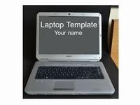 Laptop Computer Frames Template