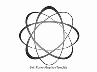 Swirl Fusion Graphics Template thumbnail