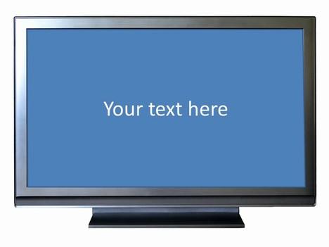 Wide Screen Tv Frame Template