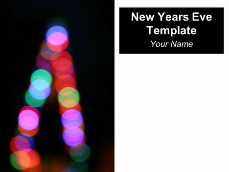 New Year's Eve Template