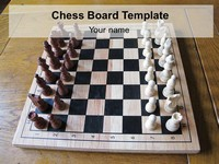 Chess Board Game Template thumbnail