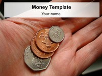British Money PowerPoint Template thumbnail