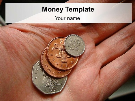 British Money PowerPoint Template