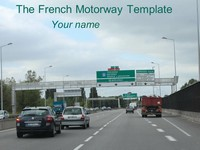 French Motorway Template thumbnail