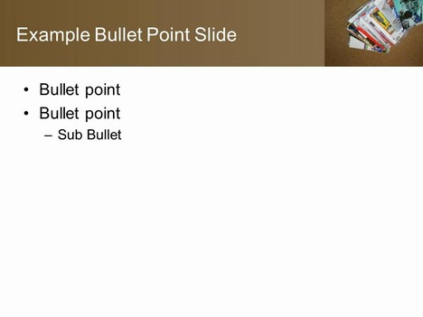 Free Post PowerPoint Template inside page