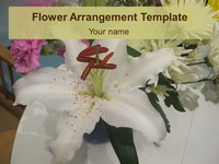 Flower Arrangement Template thumbnail