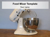 Food Mixer Template