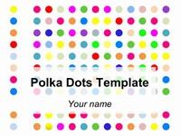 Free Polka Dots Template