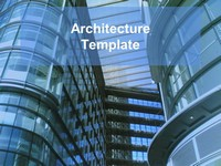 Architecture PowerPoint Template thumbnail