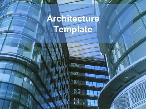 Architecture powerpoint template toneelgroepblik Images