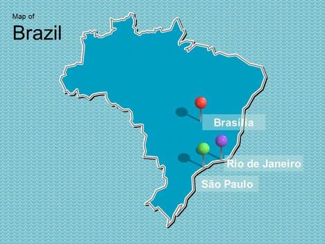 Brazil Flag Green