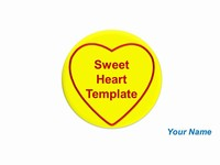 Free Sweet Heart Template
