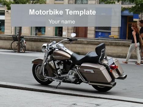 Free motorbike powerpoint template toneelgroepblik Image collections