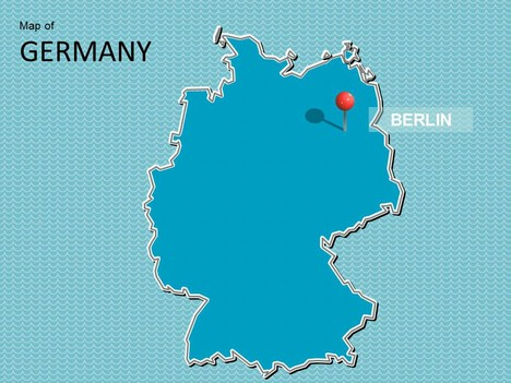 Map of germany template toneelgroepblik Images
