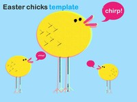 Easter Chicks PowerPoint Template
