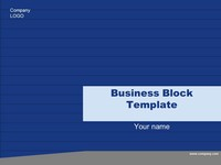 Free Business Block Template thumbnail