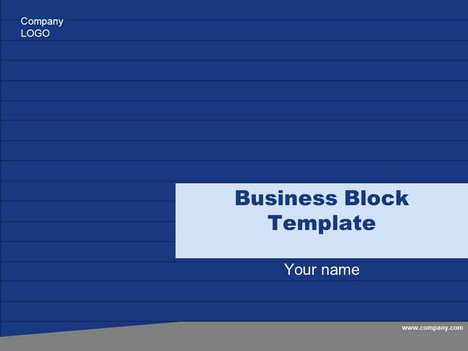 Free Business Block Template