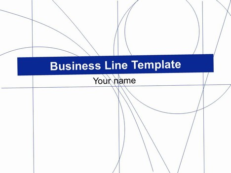 Business Line PowerPoint Template