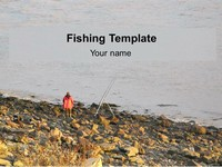 Fishing PowerPoint Template thumbnail