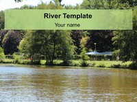 Free River PowerPoint Template thumbnail