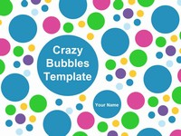 Bubble Chart Template thumbnail