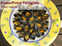 Mussel PowerPoint Template thumbnail