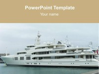 Ship PowerPoint Template thumbnail
