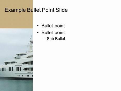 Ship PowerPoint Template inside page