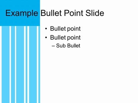 Blue Variation Template inside page