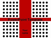 Dot Wrapped Ribbon PowerPoint thumbnail