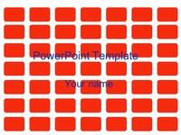 Orange Tiles Template