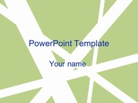 White Flash PowerPoint thumbnail