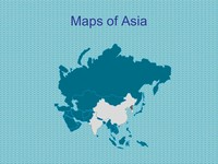 Maps of Asia Template