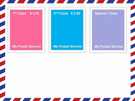 Editable Stamps Template inside page