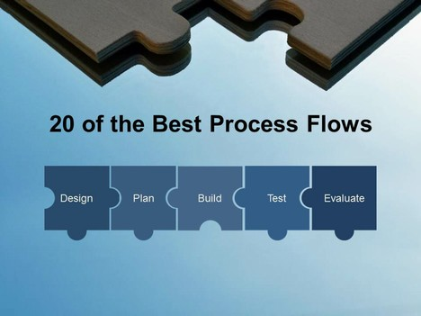 20 of the best process flows, Modern powerpoint