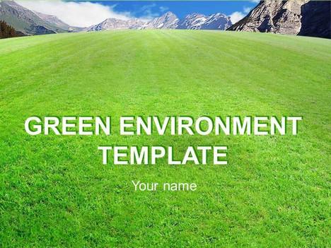 Green Environment Template