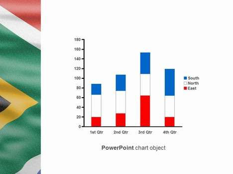 South africa flag powerpoint template south africa flag powerpoint template inside page toneelgroepblik Image collections