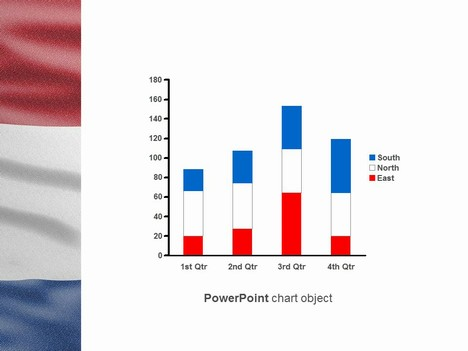 Netherlands Flag PowerPoint Template inside page