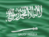 Saudi Arabia Flag PowerPoint Template