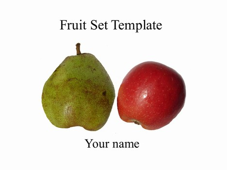 Fruit Set Template