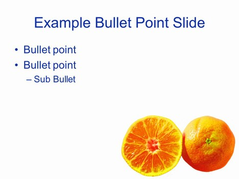 Adjusted Fruit Template inside page